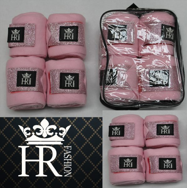 ROZE Fleece Bandages Set met HR Logo