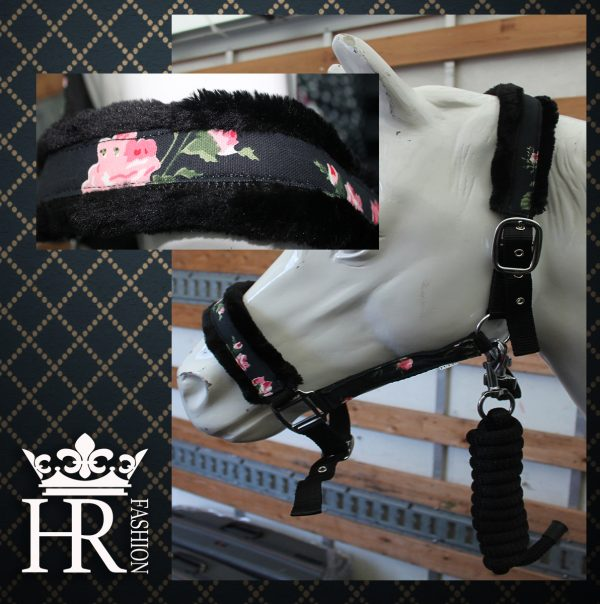 flower bont halster paard cob