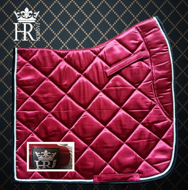 Satin Bordeaux (Nieuwe Kleur)  Full Size Dressuur & Pony Size BLACK FRIDAY DEAL