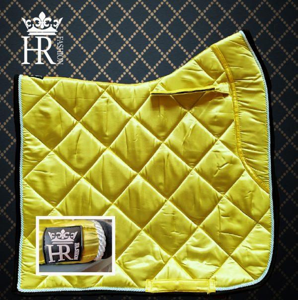 Satijn Licht Geel (Nieuwe Kleur)  Full Size Dressuur & Pony Size BLACK FRIDAY DEAL